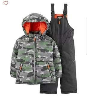 Oshgosh Winter Ski Suit with Jacket for boys