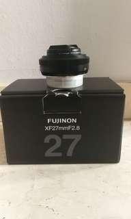 Fujinon XF27mmF2.8