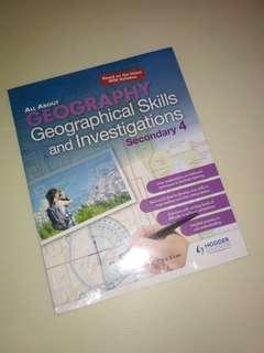 Olevel Geography Book NEW UNSEALES PRICE REDUCED