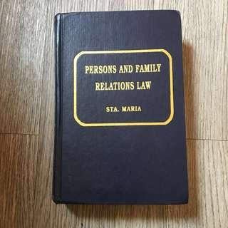 Law Book (Persons and Family Relations)