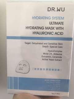 Dr. WU hydrating hyaluronic acid mask 玻尿酸面膜