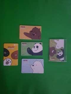 We Bare Bear Ezlink Cards