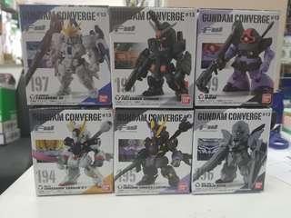 FW Bandai Gundam Converge #13 194 195 196 197 198 199 高達盒玩 全6款