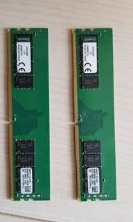 RAM - Kingston DDR4 2133Mhz 16GB (2 x 8GB)