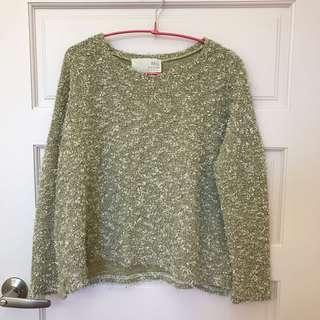 🚚 粗針織毛衣