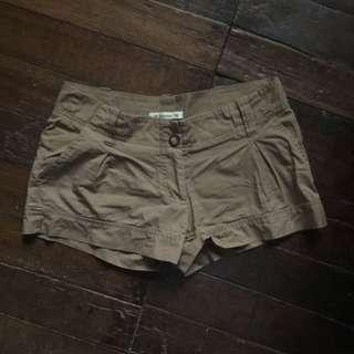 Brown f21 shorts
