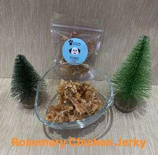Dehydrated Rosemary Chicken Jerky