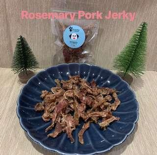 Dehydrated Rosemary Pork Jerky
