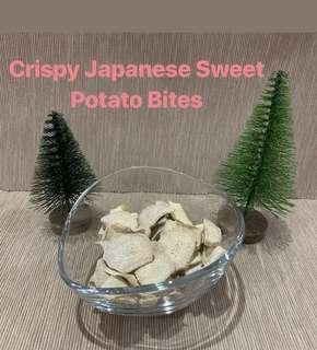Crispy dehydrated Japanese Sweet Potato Bities