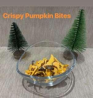 Crispy Dehydrated Japanese Pumpkin bities