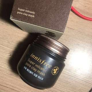Innisfree Supervolcanic Pore Clay Mask