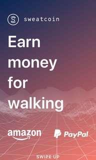 Earn money by walking? YES
