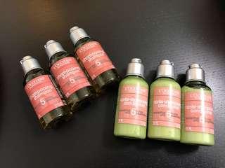 (包郵) L'occitane shampoo and conditioner set 洗護髮套裝