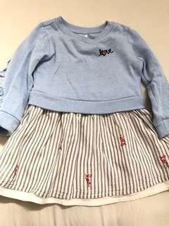 GAP dress original from US (18-24mo)