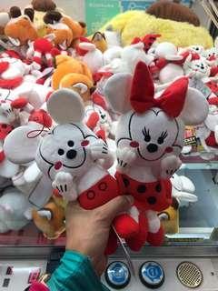90週年Mickey Minnie 一對(10吋)