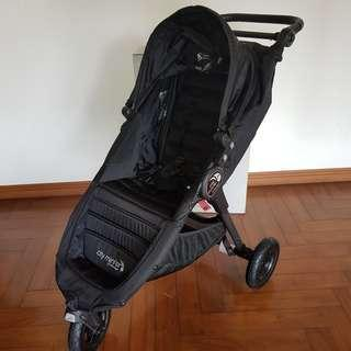 Like New Baby Jogger City Mini GT stroller black. Beli 7jt