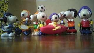 Mainan SNOOPY Sport