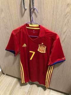 西班牙國家隊主場 大人 細碼 連字 Morata 全新 有牌