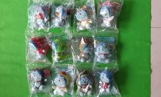 McDonald's Chinese Zodiac Doraemon Collectables Full Set of 12