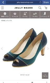 Jelly Beans Le Chione Japan open toe heels 日本 露趾高跟鞋