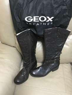 Geox genius leather boots/Geox 真皮靴