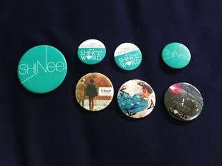 SHINee's Button Badges