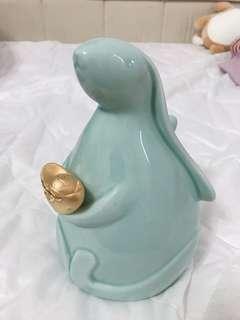 🚚 兔年限量陶瓷存錢筒