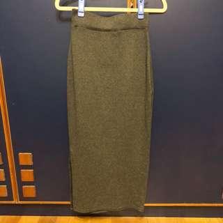 🚚 側邊開叉長裙