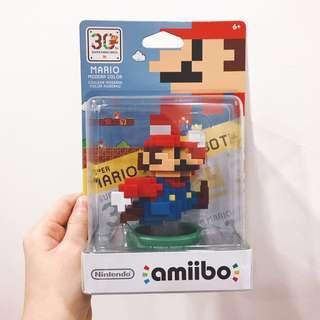 Amiibo Pixelated Mario 30th Anni Edition