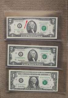 USD $2 star replacement 3 pcs lot