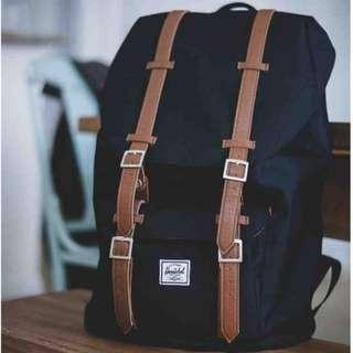 🔥 Herschel Little America Mid Vol.🎒