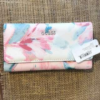 Guess floral wallet