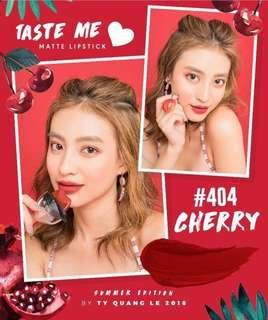 TyCos matte lip cream #cherry