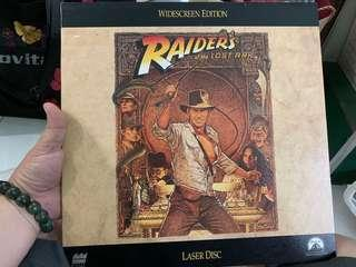 Raiders of the lost ark - laserdisc collectibles