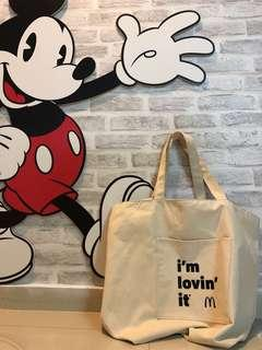 McDonald's Collector Must Have Canvas Tote Bag