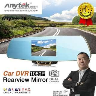 Anytek T6 Front and Rear Camera