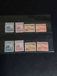2 Sets 1947 China 75th Anniversay of Commerce