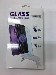 Uv glass for Samsung n Huawei
