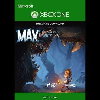 🚚 Microsoft Xbox One Max The Curse of Brotherhood Digital Download Game Code
