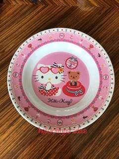 "Hello Kitty Melamine Plate 9"" / 23cm"