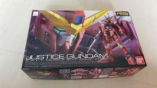 WTS/WTT RG Justice Gundam