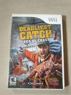 Wii Game Deadliest Catch