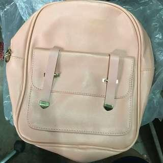 Cute Pink Bagpack or Sling Bag