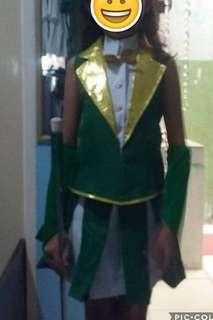 Majorette Costume with Boots Shoes
