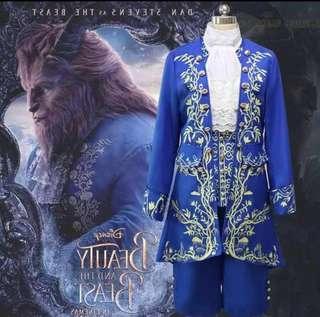 🚚 Prince Blue Uniform(beauty and beast)-Adult