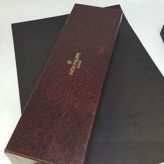 Genuine Patek Philippe Red Long Watch Box