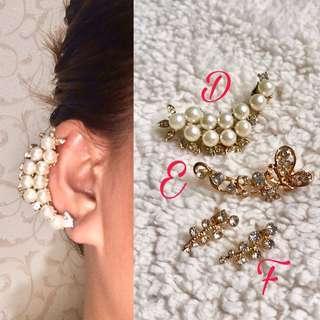 Earrings (cuff)