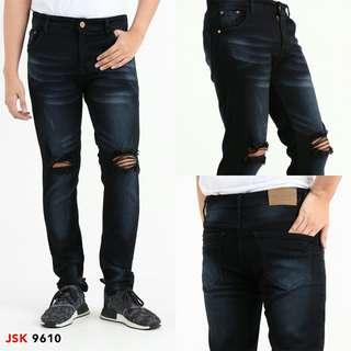 Ripped Knee Skinny Jeans JSK 9610 Premium