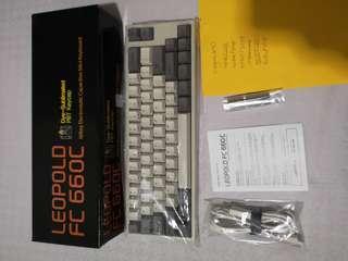 Leopold FC660C (Topre) Keyboard