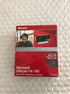 Microsoft LifeCam + Targus Internet Chat & Stereo Headset